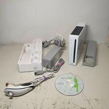Nintendo Wii  White Console Games Bundle