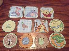 Disney Winnie the Pooh Tigger Eeyore Piglet  Fabric Iron On Appliqués style #11