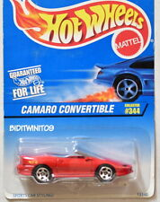 HOT WHEELS 1997 CAMARO CONVERTIBLE RED #344