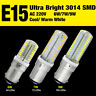 B15 LED Corn Lights 3014SMD Cool/Warm White Bulb For Home Office Display 6/7/9W