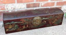 Antique Chinese Leather Document Box