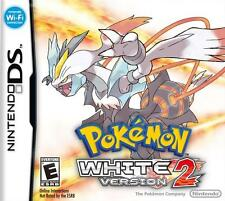 NINTENDO DS 3DS POKEMON WHITE VERSION 2 - VIDEO GAME - *BRAND NEW SEALED*