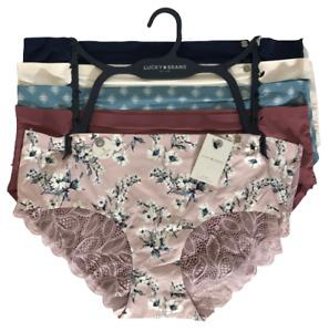 B9 ROSE Coral Pink Blue Purple Floral Lace Sheer sissy bikini panties M L XL