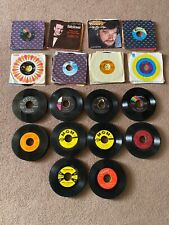 Vintage 45 Vinyl Record Lot-1950's-60's-70's-Coun try Western-Folk-Other-125+