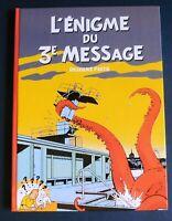 TINTIN PASTICHE. L'énigme du 3e Message T2.Hors Commerce cartonné 66 pages.