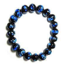 Ryukyu Fluorite (Hotaru stone) Beads Japanese Juzu Bracelet Rosary Prayer Kyoto