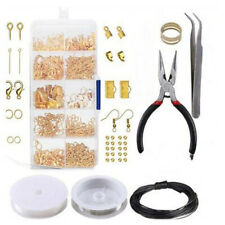 Jewelry Making Kit Wire Anklets Sterling Beading Repair Tools Craft Supplies US