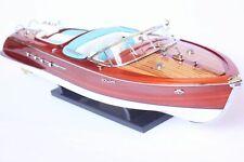 maquette riva bateau Riva Aquarama  67cm entièrement Bois laiton modélisme