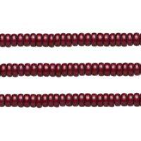 Wood Rondelle Beads Dark Brown 8x4mm 16 Inch Strand