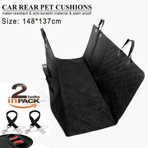 Car Rear Back Seat Cover Pet Dog Auto Protector Waterproof Hammock Mat Non-slip