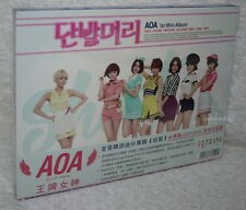 AOA 1st Mini Album Vol.1 Short Hair Taiwan Ltd CD+DVD (Ace of Angel)