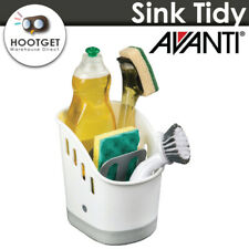 Avanti Sink Caddy Tidy Dish Cleaning Basket Holder Sponge Rack Kitchen Storage