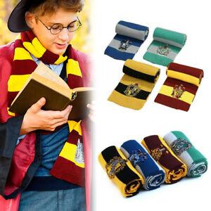Harry Potter Schal Strickschal Gryffindor Slytherin Ravenclaw Hufflepuff