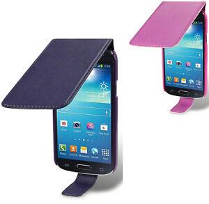 Premium Slim Fit PU Leather Flip Case For Samsung Galaxy S4 Mini i9190 i9195