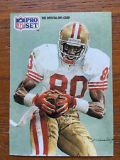 1991 Pro Set Football Card #379 Jerry Rice San Francisco 49ers HOF NM/MT