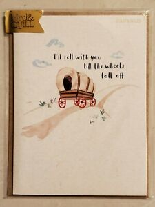 Papyrus Happy Anniversary Card - bird & Quill Roll With You