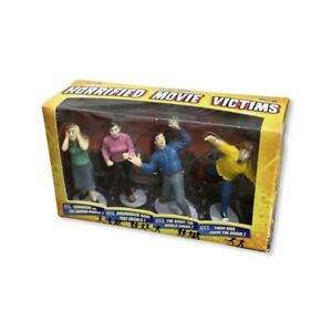 Archie McPhee Horrified Movie Victims - 4 New in Box - 2013