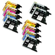 10 PK New Ink Jet Cartridge for Brother LC71 LC75 MFC J280W J425W J430W J435W