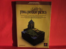 Final Fantasy Tactics Guide Book / PS