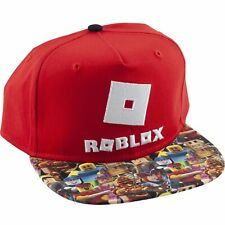 Boys 4 20 Roblox Heathered Cap Roblox Official Licensed Boys Snapback Hat Cap Youth One Size For Sale Online Ebay