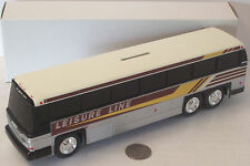 """Leisure Line Plastic Bus/Bank 10"""" NEW in BOX"""
