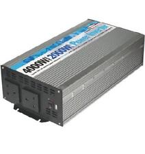 DC - AC 2000W Battery 230V Mains Power Inverter Mobile Supply T5 T6 4000W Peak