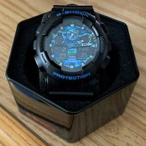 Casio G-Shock Graphic Dial Resin Quartz Men's Watch GA700-1A