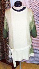 Kurzarm Damen-Pullover mit mittlerer Strickart in Langgröße
