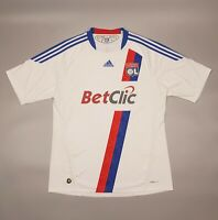Olympique Lyon 2010 2011 Home Football Soccer Shirt Jersey Adidas Camiseta Kit