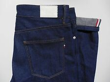 Lacoste Live L!ve Slim Fit Jeans 32 Raw Indigo New HH9789