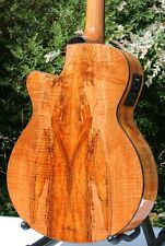 Weller Picker 00 auditorio Massive cedro-manta * spalted Maple * cutaway * Fishman