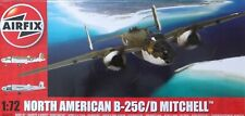 +++ NORTH AMERICAN B-25 C/D MITCHELL + 1/72 SCALE KIT by AIRFIX +++