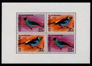 Surinam C60a MNH Birds