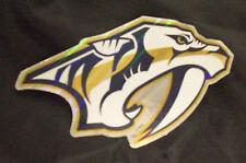 NHL Nashville Predators 2011/12-Now Team Logo in Full Color & Shape Sticker #17