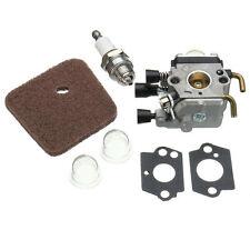 Carburador Aire Filtro de combustible Kit Por STIHL FS38 FS45/46 FS55 fs74 Fs75