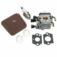 Carburetor Air Fuel Filter For Stihl FS38 FS45 FS46 FS55 HL45 FC55 KM55 FS85 ETC