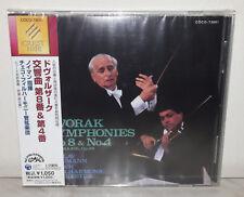 CD DVORAK: SYMPHONY NO.8 & 4 - JAPAN - COCO-73001 - NUOVO NEW