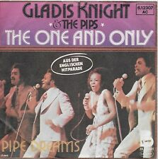 GLADYS KNIGHT & The PIPS   SP YUGOSLAVIA THE ONE & ONLY/PIPE DREAMS