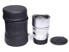 Leica summicron-m 90mm f2 e55 Chrome/Silver