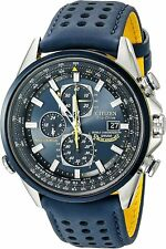 Citizen Men's Blue Angels World Chronograph Eco Drive Watch AT8020-03L NEW