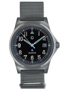 MWC Sterile G10LM Military Watch | 50m | Pheon logo| Screw Case Back| Grey Strap
