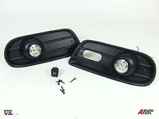 LED FOG DRL DAYTIME RUNNING LIGHTS LAMPS GRILL SET VW TRANSPORTER T4 1996-2004