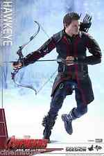 MARVEL Hawkeye Sixième Escaliers Action Figure Hot Jouets The Avengers Âge of