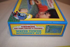 NIB THOMAS THE TANK ENGINE & FRIENDS WATER TOWER ACCESSORY SET #1005 RARE