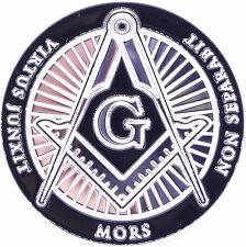 Masonic Freemason Mors Eye Pyramid Non Separabit Virtus Junxit Challenge Coin