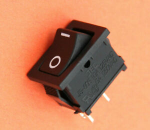Jackson Electronics On Off Miniature Rocker Switch - SPST - 125V 10A - 250V 6A