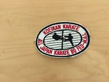 Koeikan Karate,All Japan,Karate Do Fed-M.A.I., Vintage Patch,Nos ,usa1970'S