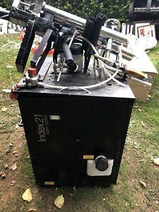 INDEX 21 LINE BEER CHILLER Cooler, Pumps And Gas