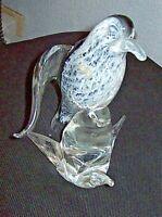 VINTAGE Uccello vetro Murano bird glass anni 50-70  Venezia Seguso ?