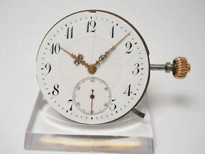 IWC 53 Pocket Watch Movement Defekt for Parts & Repair #21-12.01